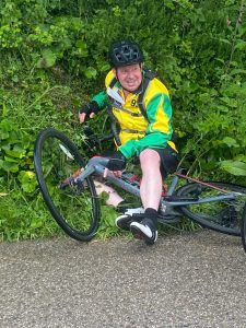 Richard Hirst - Norfolk Fellaton fundraising for YANA